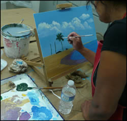 Seascape Painting with Jack Knight